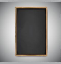 Menu chalkboard on white background vector