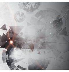 modern shape background vector image