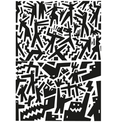 People - abstract vector