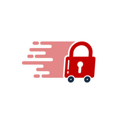 safety delivery logo icon design vector image