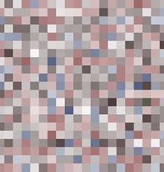 seamless pattern with colorful squares Brown and vector image