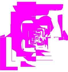 Tiles pink vector image