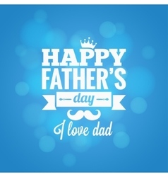fathers day party design background vector image