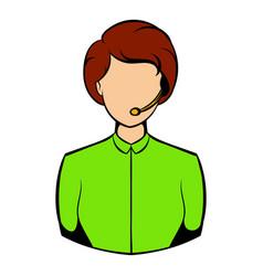 avatar icon cartoon vector image