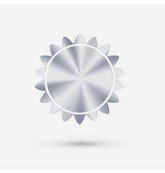sun steel icon vector image