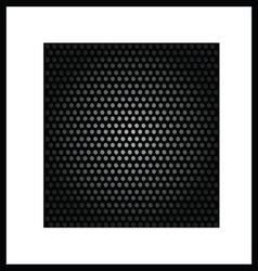 background black texture vector image