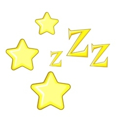 Dreaming icon cartoon style vector image