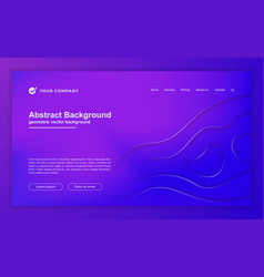 abstract purple background for your landing page vector image