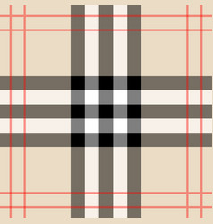 Background in scottish cage burberry vector