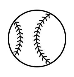 baseball cartoon design vector image
