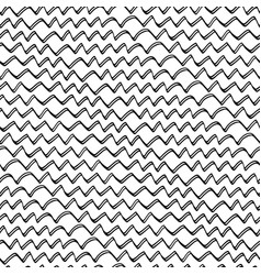 doodle abstract zigzag 2 vector image