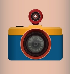 Fish-eye Camera vector image