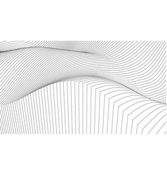 modern background waves vector image