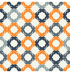 Seamless pattern mesh vector image