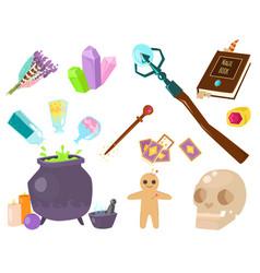 special magic symbol magician fantasy carnival vector image