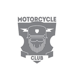 vintage motorcycle labels badges or logo vector image