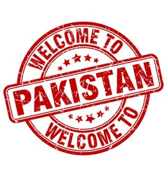 welcome to Pakistan vector image