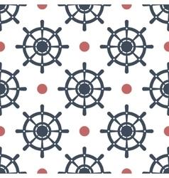 Wheel seamless pattern vector image