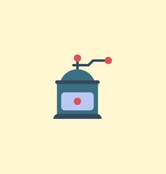 flat icon mocha grinder element vector image
