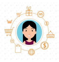 character money buy web vector image