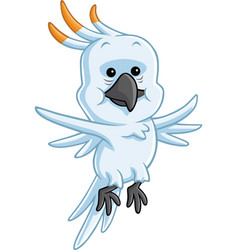 Cockatoo Cartoon vector image