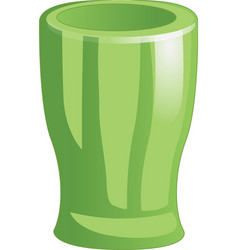 Cup goblet beaker icon isolated on white vector