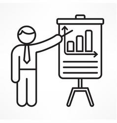 Flip chart vector