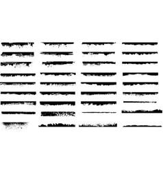 Grunge lines vector