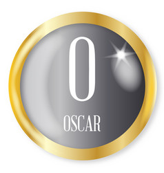 O for oscar vector