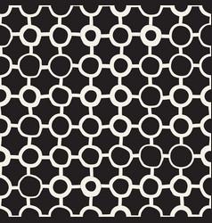 Seamless childlike pattern monochrome hand vector