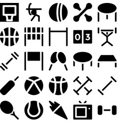Sports icon 5 vector