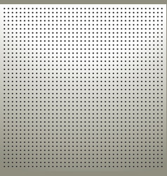 White pegboard background vector image
