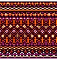 Geometry Tribal Pattern vector image