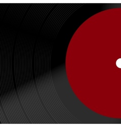 modern old vinil record background vector image
