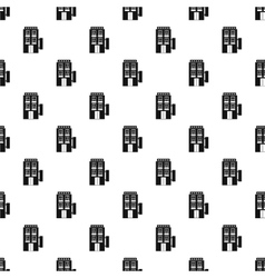 Hotel five stars pattern simple style vector