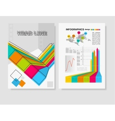 Poster Templates for Business vector image