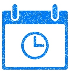 Time Calendar Day Grainy Texture Icon vector