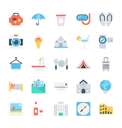 Travel Icons 4 vector