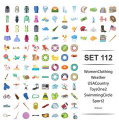 women clothing weather vector image
