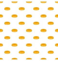 Button for clothing pattern cartoon style vector image