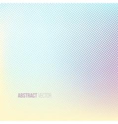 Halftone background Color square shape banner vector image