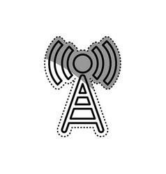 Wifi zone antenna vector