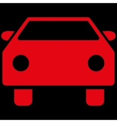 Car Flat Symbol vector image