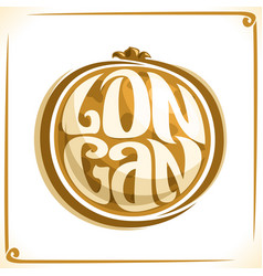 Logo for longan vector
