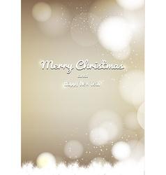 Merry christmas background design vector