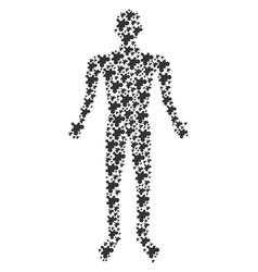 Plugin human figure vector