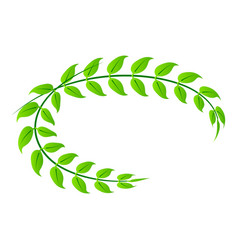 royal laurel icon isometric style vector image