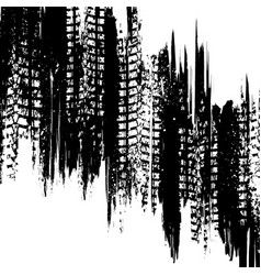 White vertical tire track background vector