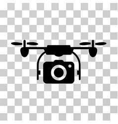 camera drone icon vector image vector image