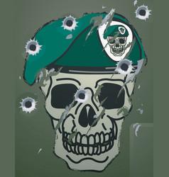 military motif vector image